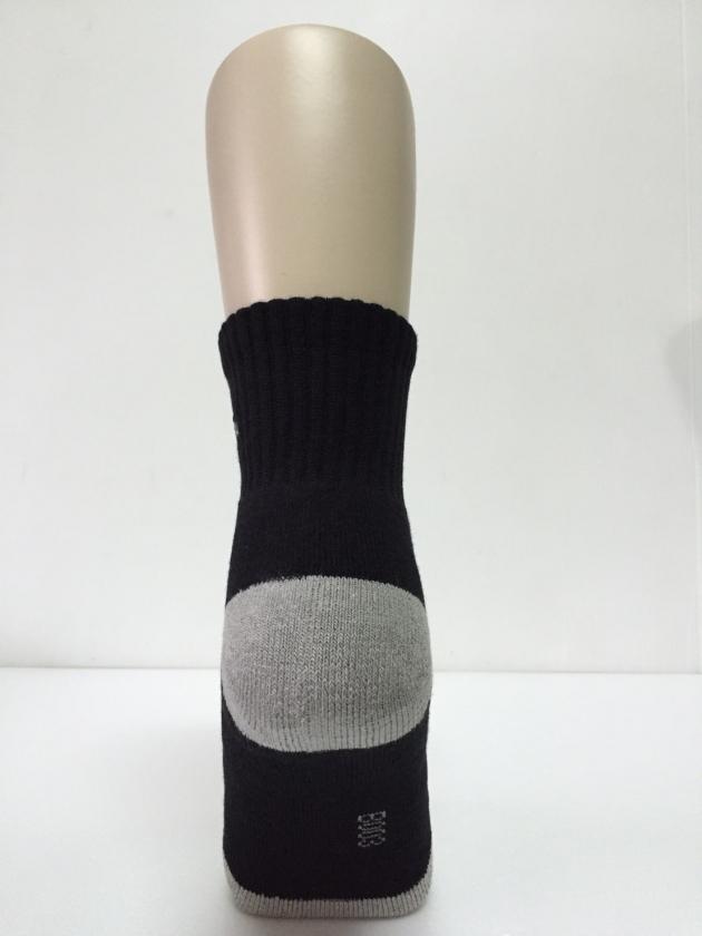 B003  asali 1/2竹炭氣墊襪 [ 入門款 ] 2