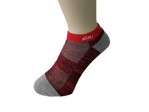 B016  asali  炭纖維混紡運動短襪 [ 足弓版 ] 1