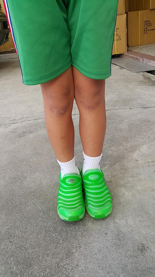 B005  NINE-NINE  兒童專屬除臭氣墊襪 3