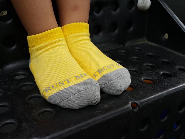 TRUST ME 兒童專屬除臭運動透氣網短襪 3