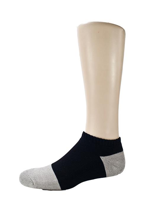 B004  asali 竹炭隱形氣墊襪 1