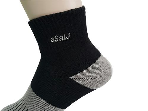 B011  asali  炭纖維1/2機能運動襪 [ 加強版 ] 2